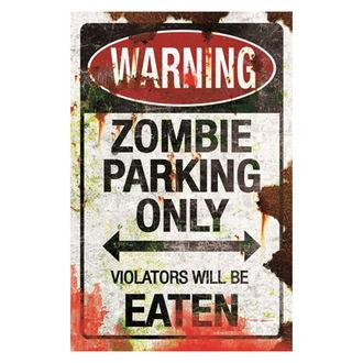 dekorace (cedule) Zombie Parking