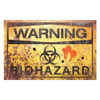 dekorace (cedule) Warning Bio Hazard - D2679G6
