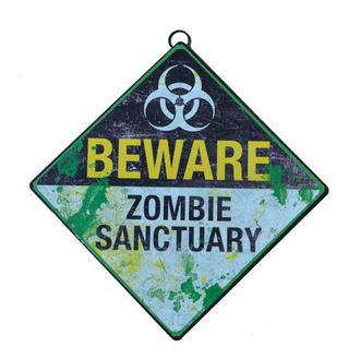 cedule Beware Zombie Sanctuary