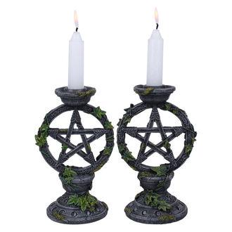 svícen (sada) Wiccan Pentagram - B2539G6