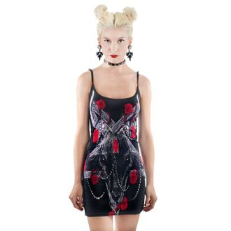 šaty dámské TOO FAST - ROSES FOR SATAN, TOO FAST