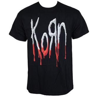 tričko pánské Korn - Bloody Logo - Black, Korn