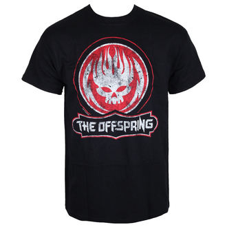 tričko pánské The Offspring - Distressed Skull - Black, NNM, Offspring