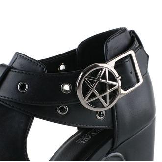 boty dámské KILLSTAR - Crucifreak Mule - Black