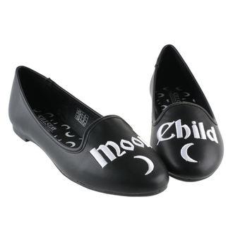 boty dámské (baleríny) KILLSTAR - Moon Child - Black