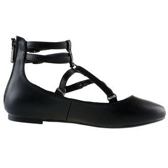 boty dámské KILLSTAR - Wicca - Black, KILLSTAR