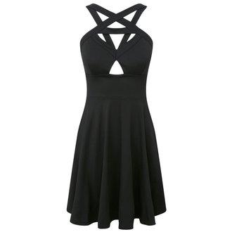 šaty dámské KILLSTAR - Cosmik - Black - K-DRS-F-244