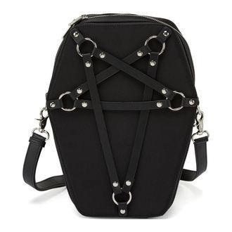 kabelka (taška) KILLSTAR - Hexellent Coffin - Black, KILLSTAR