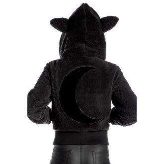 mikina dámská (bunda) KILLSTAR - Satanicat - Black, KILLSTAR
