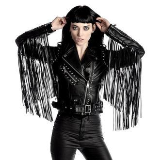 bunda dámská (křivák) KILLSTAR - Harlet - Black