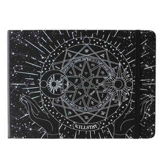 poznámkový blok KILLSTAR - Astrology Journal - Black, KILLSTAR
