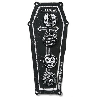 placky KILLSTAR - Badge Up - Black, KILLSTAR