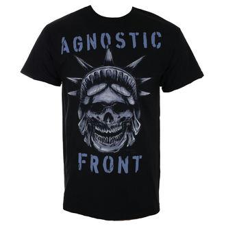 tričko pánské AGNOSTIC FRONT - STATUE SKULL - RAGEWEAR, RAGEWEAR, Agnostic Front