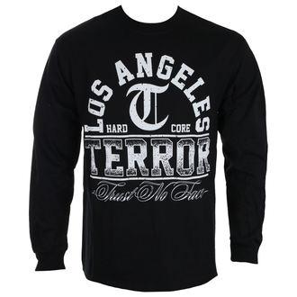 tričko pánské s dlouhým rukávem TERROR - TRUST NO FACE - Black - RAGEWEAR, RAGEWEAR, Terror