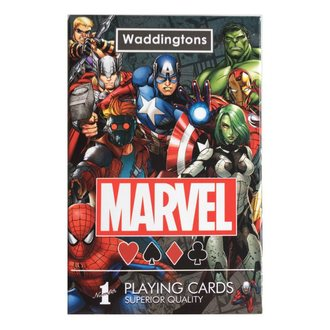 hrací karty Marvel Comics