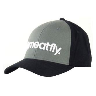 kšiltovka MEATFLY - Trademark - B - Gray, MEATFLY