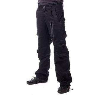 kalhoty pánské VIXXSIN - KILLIAN - 2 WAY BLACK - POI405