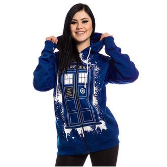 mikina dámská Doctor who - TARDIS GRAFFITI - BLUE - POI409
