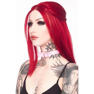 obojek KILLSTAR - Hellcore Pussy - Collar Pink, KILLSTAR