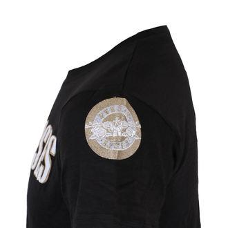tričko pánské Guns N' Roses - Logo & Bullet - Black - ROCK OFF