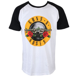 tričko pánské Guns N' Roses - Circle Logo - Black - ROCK OFF, ROCK OFF, Guns N' Roses