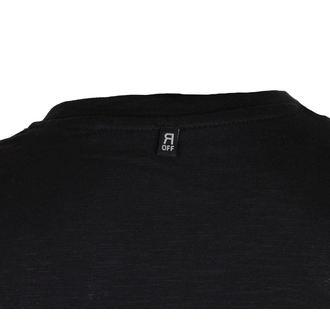 tričko pánské Avenged Sevenfold - Logo & Deathbat Applique - Black - ROCK OFF