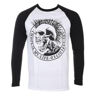 tričko pánské s dlouhým rukávem THE EXPLOITED - Chaos Is My Life - NUCLEAR BLAST, NUCLEAR BLAST, Exploited