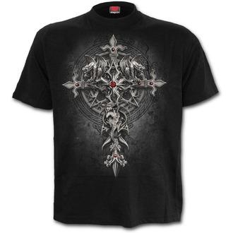 tričko pánské SPIRAL - CUSTODIAN - Black