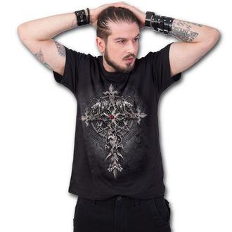tričko pánské SPIRAL - CUSTODIAN - Black, SPIRAL