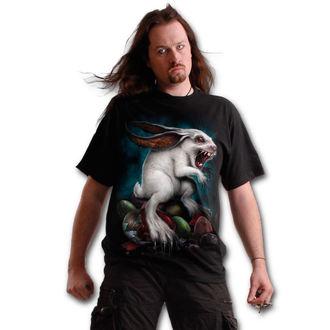 tričko pánské SPIRAL - RABBIT HOLE - Black, SPIRAL