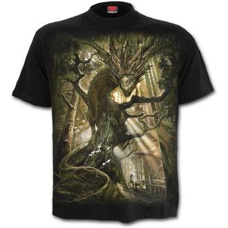 tričko pánské SPIRAL - DRAGON FOREST - Black, SPIRAL