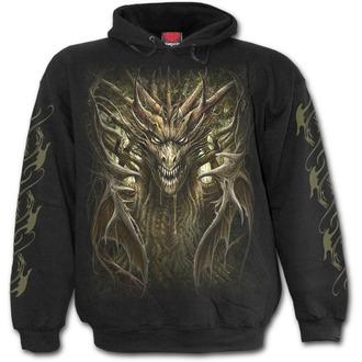 mikina pánská SPIRAL - DRAGON FOREST - Black, SPIRAL