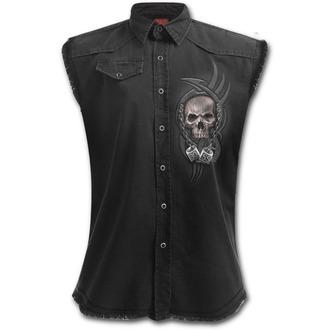 košile pánská bez rukávů SPIRAL - BOSS REAPER - Black, SPIRAL
