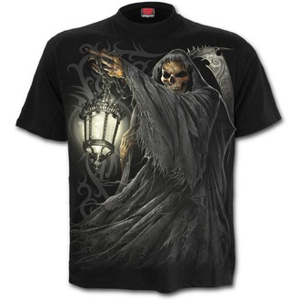 tričko pánské SPIRAL - DEATH - Black, SPIRAL