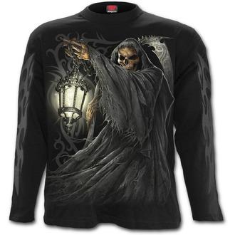 tričko pánské s dlouhým rukávem SPIRAL - DEATH LANTERN - Black, SPIRAL