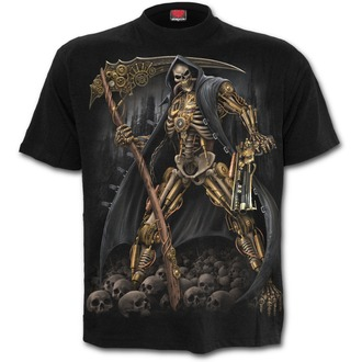 tričko pánské SPIRAL - STEAMPUNK SKELETON - Black, SPIRAL