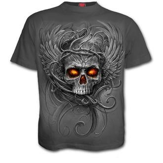 tričko dětské SPIRAL - ROOTS OF HELL - Charcoal, SPIRAL