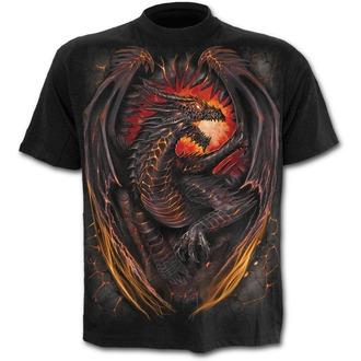 tričko dětské SPIRAL - DRAGON FURNACE - Black, SPIRAL