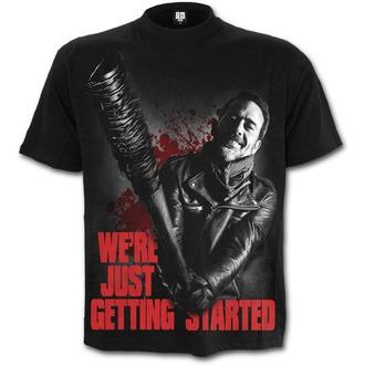 tričko pánské SPIRAL - NEGAN - JUST GETTING STARTED - Walking Dead - Black, SPIRAL