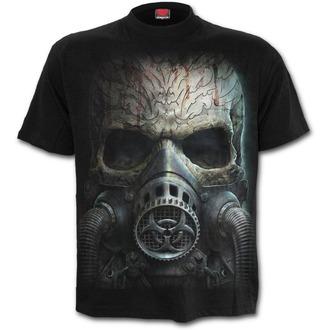 tričko pánské SPIRAL - BIO-SKULL - Black, SPIRAL