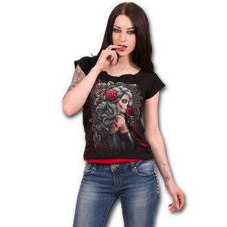 tričko dámské SPIRAL - DEAD TATTOO - Black