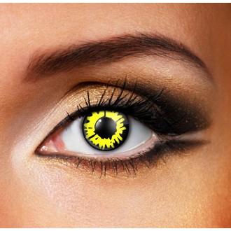 kontaktní čočka YELLOW WEREWOLF - EDIT, EDIT