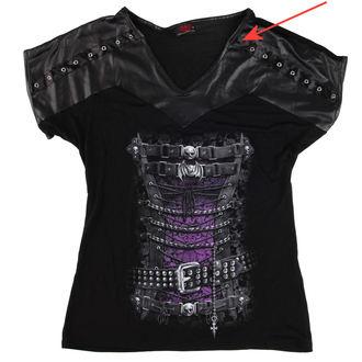 tričko dámské SPIRAL - Waisted corset - POŠKOZENÉ