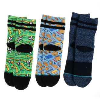 ponožky dětské (sada 3ks) THRASHER - MULTI