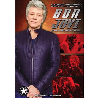kalendář na rok 2021 - Bon Jovi, NNM, Bon Jovi