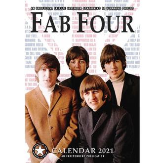 kalendář na rok 2021 - The Beatles, NNM, Beatles
