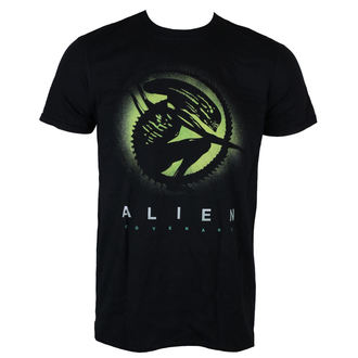 tričko pánské ALIEN - COVENANT - SILHOUETTE BLACK - LIVE NATION, LIVE NATION, Alien - Vetřelec
