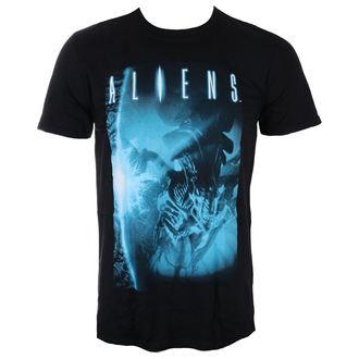 tričko pánské ALIENS - BLUE BLACK - LIVE NATION - PE15017TSB