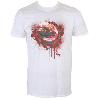 tričko pánské ALIEN - CHEST BUSTER - WHITE - LIVE NATION, LIVE NATION, Alien - Vetřelec