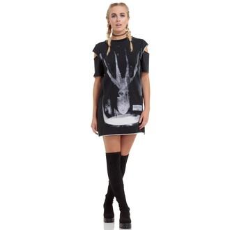 šaty dámské JAWBREAKER - Octopus Jar Cold Shoulder